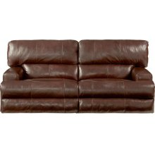 Wembly Power Headrest Power Lay Flat Reclining Sofa