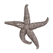 Deep Pewter Starfish - medium