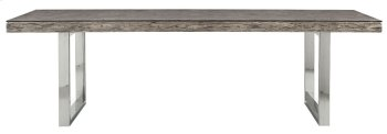"""Henley Dining Table (106"""") in Gray Pearl Product Image"""