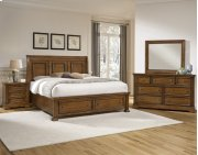 Sleigh Bed w/ Storage Option Product Image