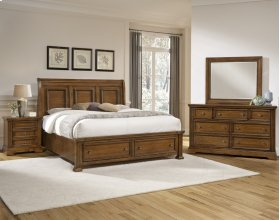 Sleigh Bed w/ Storage Option