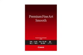 Canon Photo Paper Premium Fine Art Smooth 13x19 (25 Sheets) Premium Fine Art Smooth Paper