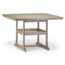 "58""x58"" Counter Table"
