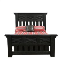 "Queen Bed : 73.5"" x 93"" x 68"" Tall Las Cruces Bed"