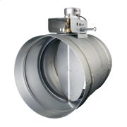 "Universal Automatic Make-up Air Damper for 8"" Duct Product Image"