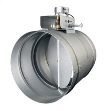 "Universal Automatic Make-up Air Damper for 8"" Duct"