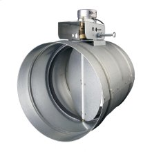 """Universal Automatic Make-up Air Damper for 8"""" Duct"""
