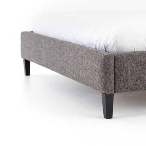 """Queen Size 48"""" Headboard Height Madison Upholstered Bed"""