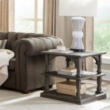 Juniper - Rectangular Side Table - Charcoal Finish