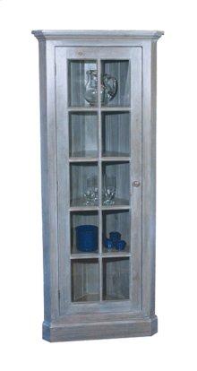 Glass Door Corner Cupboard