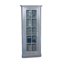Glass Door Corner Cupboard