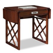 Chocolate Oak Drop Leaf Computer/Writing Desk #81420 Product Image