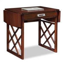 Chocolate Oak Drop Leaf Computer/Writing Desk #81420