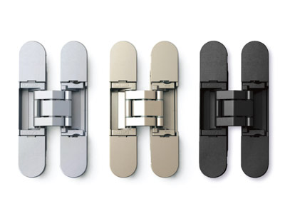 Color Customizable 3-way Adjustable Concealed Hinge