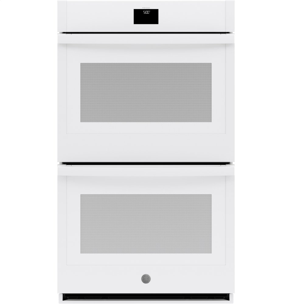 """GE(R) 30"""" Built-In Convection Double Wall Oven  WHITE"""