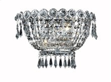 1900 Century Collection Wall Sconce Chrome Finish