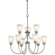 Jolie Collection Jolie 9 light Chandelier NI