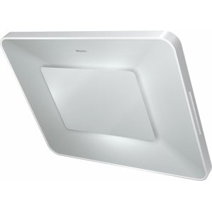 MieleDA 6996 W Pearl Wall ventilation hood with dimmable ambient lighting for a unique lighting mood in your kitchen.