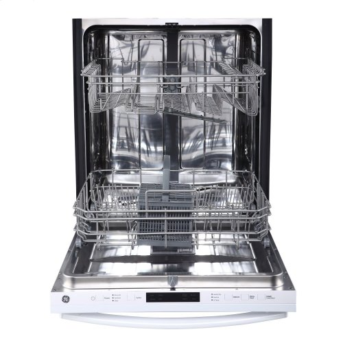 Built-In Stainless Steel Dishwasher with Hidden Controls