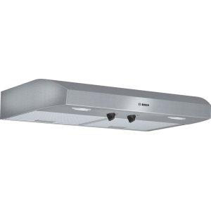 500 Series built-under cooker hood 30'' Stainless steel DUH30252UC