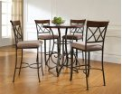 5-Pc. Hamilton Pub Table Set with 4 Bar Stools - (1) 697-404 + (4) 697-432 Product Image