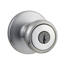 Tylo Keyed Entry Knob - Satin Chrome