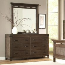 Promenade - Six Drawer Dresser - Warm Cocoa Finish