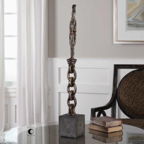 Acrobatic Handstand Figurine