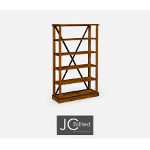 Country Walnut tag re or Bookcase