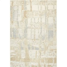 Intrigue 1205 Cream Beige Silver 6 X 8