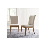 Hygge by Rachael Ray Upholstered Back Side Chair Product Image