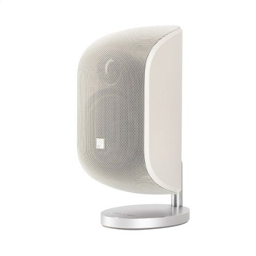 Matte White M-1 Satellite speaker