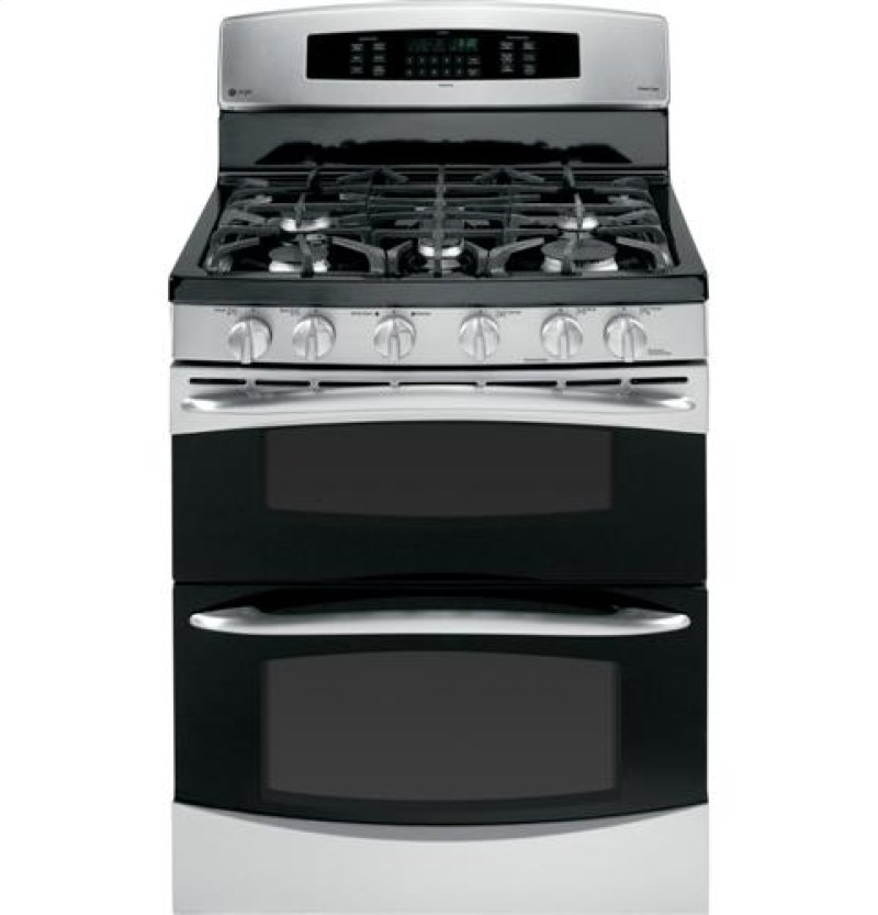 Ge Profile Series 30 Free Standing Gas Double Oven With Convection Range