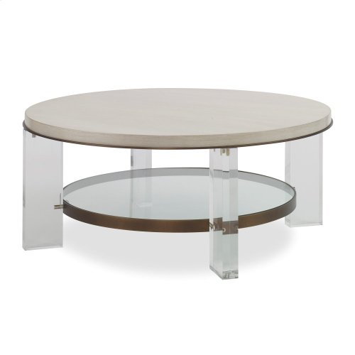 Malone Cocktail Table - Champagne