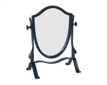Black Metal Retro Vanity Mirror