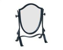 Black Metal Retro Vanity Mirror