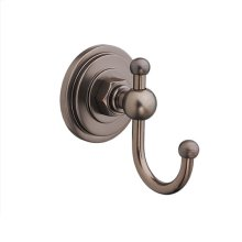 Landfair Robe Hook - Carbon Bronze