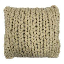 Abuela Wool Sand 20x20 Cover Only Sps