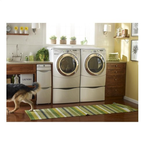"""15.5"""" Laundry Pedestal with Storage Drawer"""