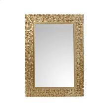 Pastiche Mirror Rectangular Gold