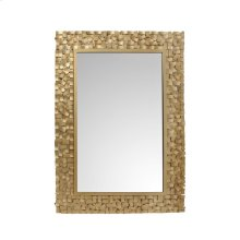 Pastiche Mirror Rectangular Gold