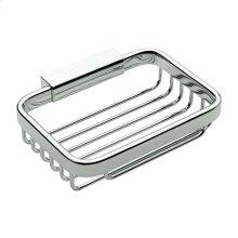 Polished Chrome Soap Basket