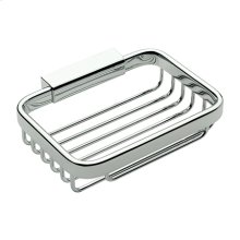 Polished Chrome Soap Basket