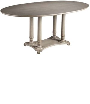"LaScala 72"" Oval Table"