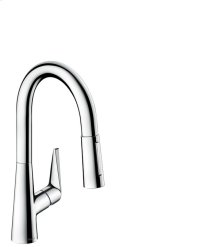 Chrome Prep Kitchen Faucet, 2-Spray Pull-Down, 1.75 GPM