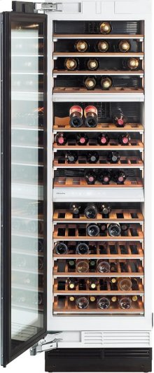 KWT 1613 Vi MasterCool Wine Temperature Control Unit for optimum conditioning, thanks to different zones and Miele TouchControl.