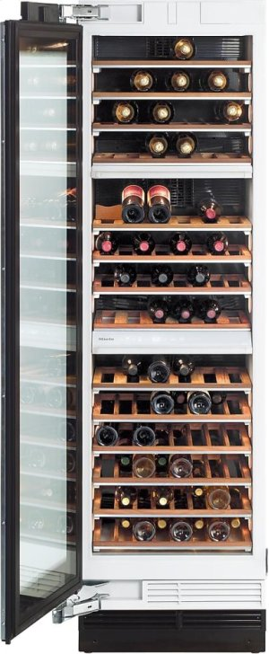 KWT 1613 SF MasterCool Wine Temperature Control Unit for optimum conditioning, thanks to different zones and Miele TouchControl.