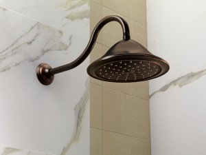 Round Raincan Showerhead