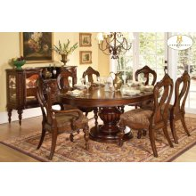 7PC SET (Table with 6 Side Chairs)