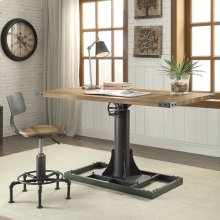 Empleton Large Lift Desk W/ Chair